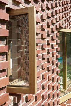 Lacy Brick by Pamphilon Architects