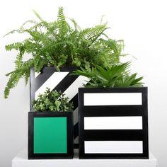 Hicks Planter, Small, Green