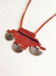 Makramee-Halskette böhmischen Stil Anhänger böhmischen von zenboho                                                                                                                                                      Mehr