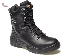 Dickies FD23375 BK 5+ Quebec Bottes doublées S1-P Taille 39 Noir - Chaussures dickies (*Partner-Link)