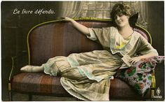 http://thegraphicsfairy.com/old-photo-french-woman-on-settee/