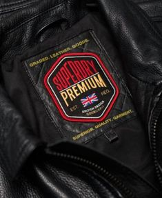 Superdry Men's Curtis Full-Zip Leather Jacket - Black S Hunting Hoodies, Leather Jackets Online, Denim Shirt, T Shirt, Superdry Mens, Celebrity Outfits, Men's Briefcase, Leather Briefcase, Men's Leather