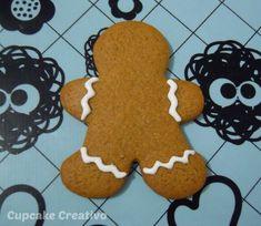 Receta de Galletas de Jengibre, especiales para Navidad!! Además te enseño a decorarlas paso a paso :)