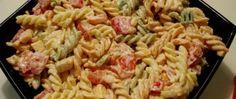 Salata sa testeninom i piletinom Cooking Recipes, Healthy Recipes, Whole 30 Recipes, Pasta Salad, Macaroni And Cheese, Good Food, Food Porn, Food And Drink, Dinner