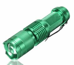 Mini Zoomable Tactical Flashlight