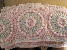 Ravelry: JoAnnMW's Circles Baby Afghan