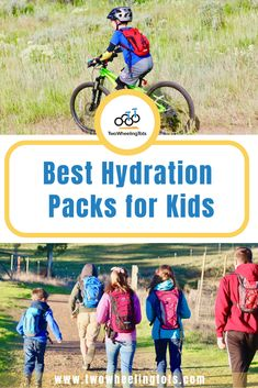 Kids hydration packs are a must-have for biking or hiking as a family! We put Camelbak, Osprey and off-brands to the test to find the best. Bike Equipment, Hiking With Kids, Hydration Pack, Cargo Bike, Kids Bike, Game Changer, Of Brand, Biking, Cool Kids