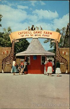Catskill Game Farm New York~ generations of family memories.  So sad it's gone