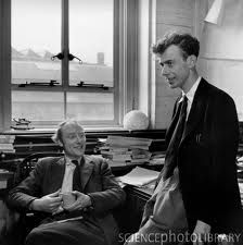 On this day, Feb 21, 1953, Francis Crick and James Watson discovered the structure of the DNA molecule. (They were awarded the Nobel Prize in Physiology/Medicine in 1962.)