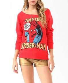 The Amazing Spider-man Pullover- forever 21