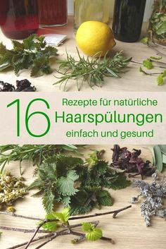 Rinses and leave-in hair conditioners - simple, effective and .-Rinsen und Leave-in Haarspülungen – einfach, effektiv und vegan Make and use 16 natural hair rinses yourself - Leave In, Shampooing Diy, Natural Hair Care, Natural Hair Styles, Natural Beauty, Natural Makeup, Curly Girls, Belleza Diy, Natural Hair Conditioner