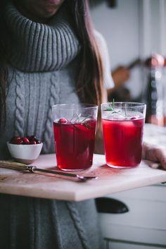 CranRaspberry Sparkler by Eva Kosmas Flores | Adventures in Cooking