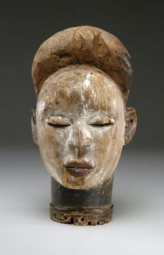 Kongo culture, D.R. of the Congo, Angola, Commemorative Portrait Head