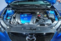Under the hood of the 2013 Mazda CX-5