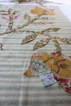 Applique Fabric, Hand Applique, Hand Embroidery Patterns, Flower Applique, Applique Patterns, Felt Fabric, Applique Designs, Quilt Patterns, Embroidery Designs