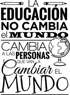 Motivational Phrases, Inspirational Quotes, Mexican Quotes, Hand Lettering Practice, Quotes En Espanol, Life Rules, School Quotes, Teachers' Day, Best Quotes
