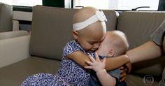 Irmão compatível salva a vida de menina com doença grave