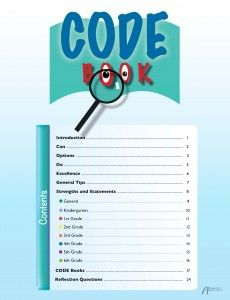 CODE Book is a fun, flexible, and engaging process for children to develop strengths which shape character. Social Skills, Programming, Flexibility, Children, Kids, Preschool, Coding, Shape, Education