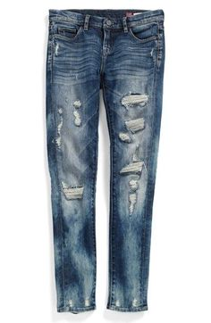 BLANKNYC 'Fit of Rage' Destroyed Jeans (Big Girls) | Nordstrom