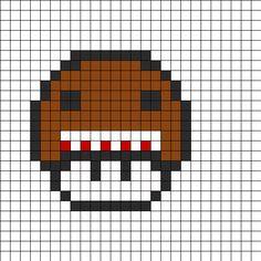 Domo Mushroom bead pattern