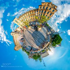 HDR Munich City 360 Panorama by Joern_Ahrens