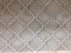 Dove gray arabesque tile from Kensington kitchen and bath inc