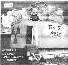Degen Erik: IMPACT / EU'S ARSE - Split EP (1983)