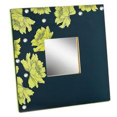 Mod Podged Mirror #diy #homedecor