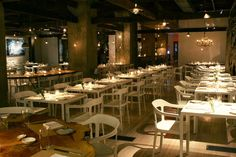 ABC Kitchen - NYC Organic farm food served in a natural, eco-friendly environment.