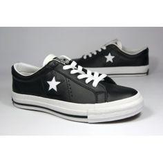 Converse One Star Black-White