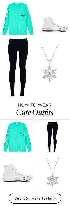 Cute Winter Outfit by preppy-southern-hipster-girl on Polyvore featuring Victorias Secret, NIKE and Converse
