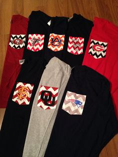 LONG SLEEVED Game Day Personalized Monogrammed by ElsBriarPatch, $22.00 Need the florida state one!
