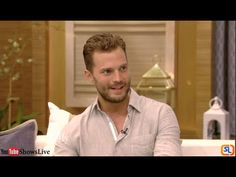 Jamie Dornan Interview - Anthropoid | Live with Kelly 2016 August 05 - YouTube