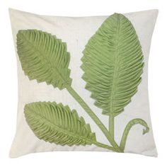 Picture of Spring Charm Pillow - Apple Green, 18-in.