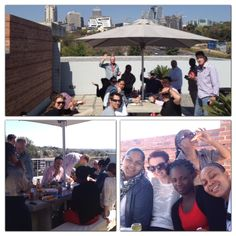 A friday Braai on the roof at #InterbrandSampson HQ just celebrating the great weather and yet another successful work week!