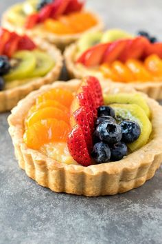 Recipe: Certified Pastry Aficionado Easy No Bake Desserts, Köstliche Desserts, Delicious Desserts, Tart Recipes, Fruit Recipes, Dessert Recipes, Dessert Bars, Mini Tart Shells, Pastries