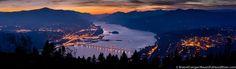 Hood River - White Salmon - Columbia River Gorge Panorama