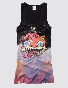 So colorful but creppy cool,Love it! http://www.iheartdropdead.com/product.php/2253/19/astral_cruise #DDPINTOWIN