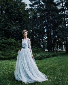 Свадебное платье , невеста серое платье серебро кружево