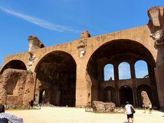 roman forum basilica of Maxientus