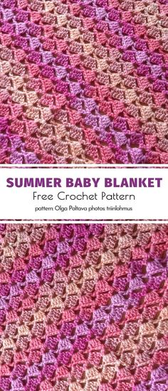 Baby Fairies Ombre Blankets Free Patterns – Your Crochet Baby Afghan Crochet Patterns, Baby Blanket Crochet, Crochet Stitches, Crochet Baby, Knit Crochet, Crocheting Patterns, Crochet Cardigan, Crochet Blankets, Cute Crochet