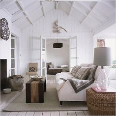 White Country Cottage Living Room 42 Guest Post Decorating with soft Grey the nordic House Blog the nordic House Blog 8