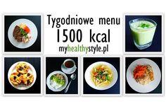 Tygodniowe menu 1500 kcal - jadłospis i przepisy - idealne dla zabieganych w 2016 roku #10 | my healthy style