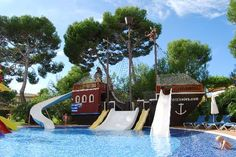 Pirate ship pool in your own backyard!