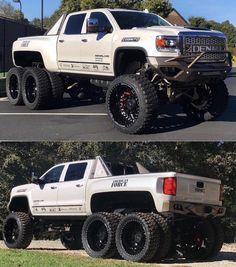 trucks and cars Dually Trucks, Lifted Chevy Trucks, Gm Trucks, Cool Trucks, Chevy Diesel Trucks, 6x6 Truck, Custom Pickup Trucks, Jeep Truck, Bugatti