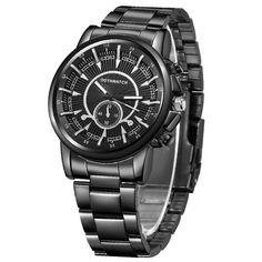 e0f03e60c59 2018 Fashion Men s Watch Stainless Steel Watch Dress Watch