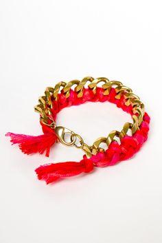 Alimonada - Multicolor Chain Bracelet | a-thread