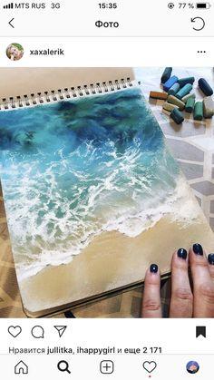 Chalk Pastel Art, Pastel Watercolor, Chalk Pastels, Chalk Art, Oil Pastel Art, Oil Pastel Landscape, Art Drawings, Oil Pastel Drawings, Painting & Drawing