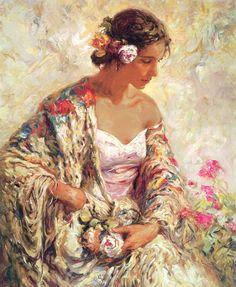 jose royo modern impressionism Spanish belleza serena or serene beauty 5 stars phistars worthy.jpg
