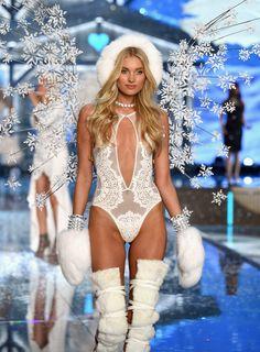 Elsa Hosk - 2015 Victoria's Secret Fashion Show | Harper's Bazaar